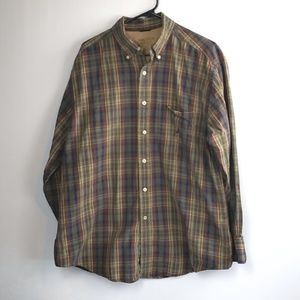 "Nautica Men's ""Vintage"" 100% Cotton Plaid Shirt"